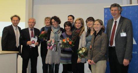 Gruppenbild der Preisträger/innen